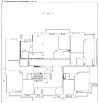 Продам 1-комн. квартиру, 3-й Заречный микрорайон, Заречный проезд, 43 - Фото 2
