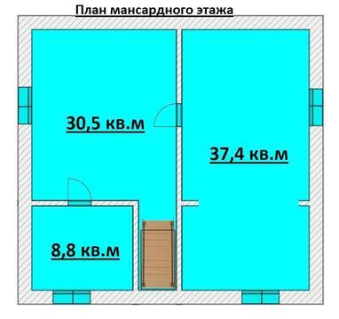 Продажа дома, Казань, СНТ Заречье - Фото 3