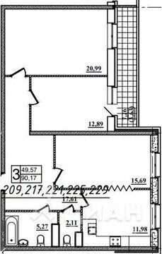 Продаю3комнатнуюквартиру, Назрань, Московская улица, 28, Купить квартиру в Назрани по недорогой цене, ID объекта - 323071443 - Фото 1