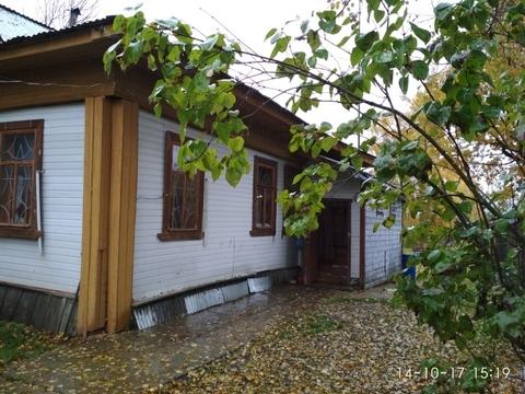 Продам дом из бревна, 15 минут ходьбы до реки Волга. Деревня Башарино - Фото 2
