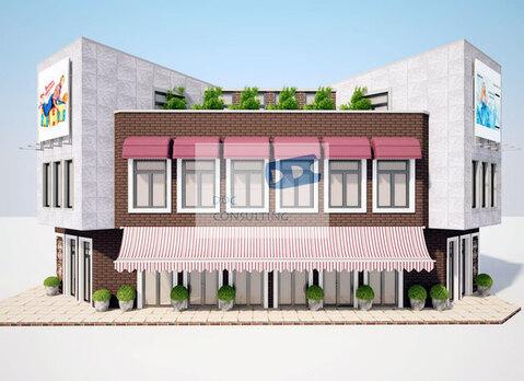 Первый этаж 59,9 кв.м. с отдельным входом на 1 линии в новом здании. - Фото 1