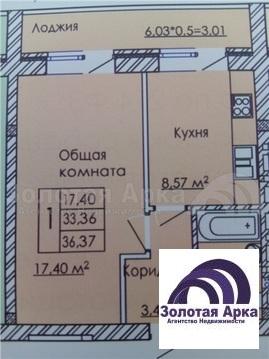 Продажа квартиры, Южный, Войсковая улица - Фото 2