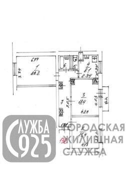 3-к Квартира, г. Москва, Спартаковская площадь, д.1/2 - Фото 1