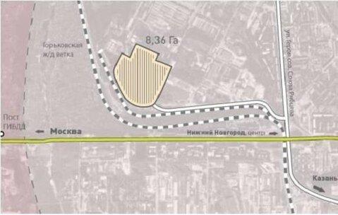 Продажа земельного участка 8,36 га в промзоне на ул. Чаадаева - Фото 2