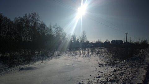 Участок 22 сотки, в Вишенках, первая линия от дороги - Фото 2