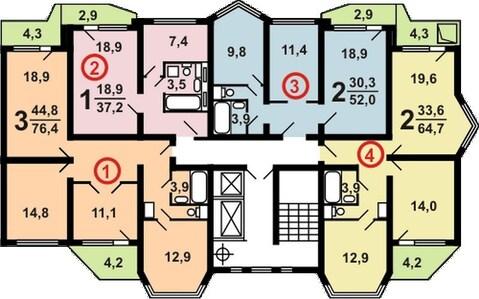 Продам 2-х комнатную квартиру в Брехово