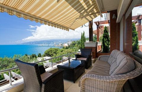 Шикарные двухуровневые апартаменты с видом на море в комплексе - Фото 1