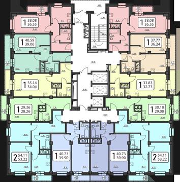 Продам 2-комн.54,11 кв.м Полтавская д. 38 Заселение в ноябре