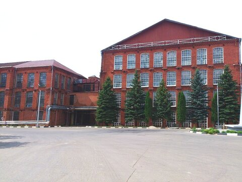 Действующая швейная фабрика в Кохме. - Фото 1