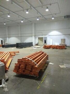 Отапливаемый склад 2700 кв.м, стеллажи - Фото 4