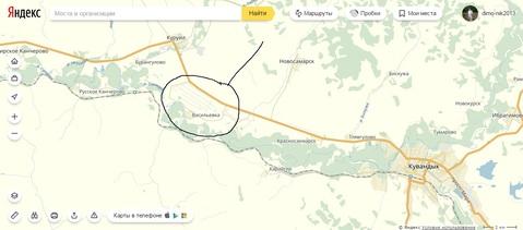 Большой участок 30 сот (ИЖС), в селе Васильевка Кувандыкский р-н - Фото 1