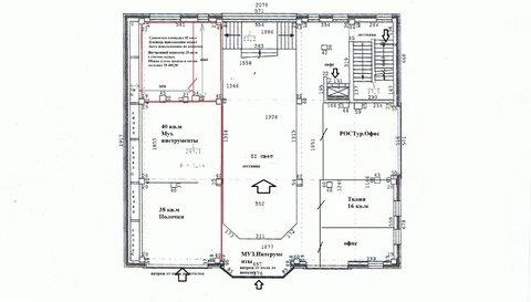 Универс.помещение 42 кв.м. на 3 этаже ТЦ - Фото 3