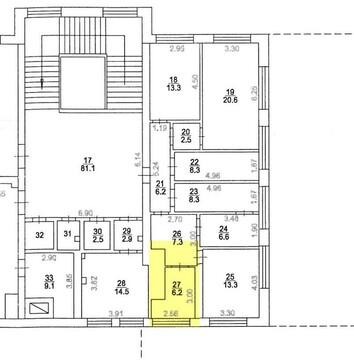 Аренда офиса 6.5 м2, Аренда офисов в Королеве, ID объекта - 601525728 - Фото 1