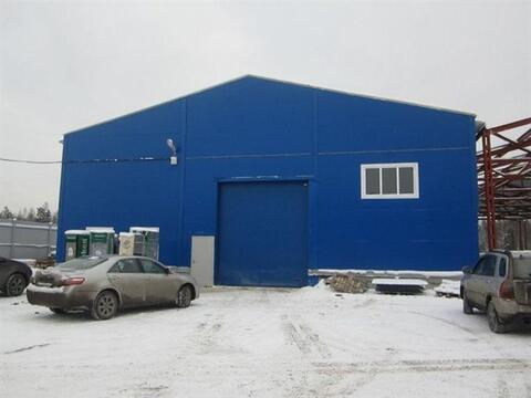 Сдам складское помещение 1000 кв.м, м. Девяткино - Фото 1