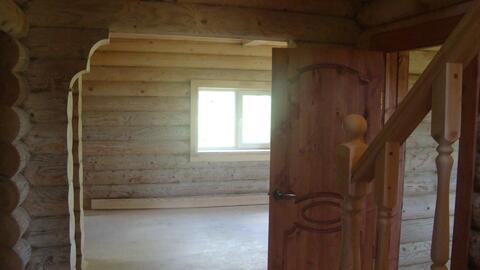 140м2 2хэтажный дом из оциллиндрованного бревна СНТ Трубицино, пруд. - Фото 4