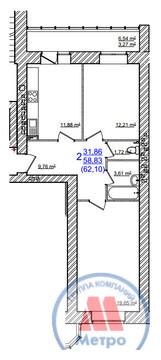 Квартиры, ЖК Дом на Моховой, 2, ул. Моховая, д.2 - Фото 2