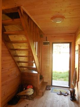 Дом из клеёного бруса (150х150), площадь: 80 (кв.м.). Участок 8 соток. - Фото 3