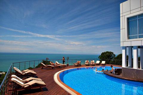 Шикарная вилла-гостиница с панорамным видом на море - Фото 1