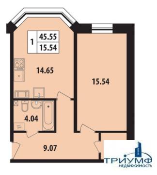 Продам 1-комнатную квартиру у м. Нарвская - Фото 1