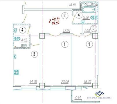 Продам трехкомнатную квартиру Орджоникидзе д64,85кв.м,12эт Цена 4230т. - Фото 2