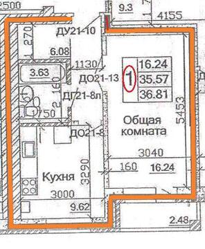 Продажа квартиры, Калуга, Ул. Полесская - Фото 5