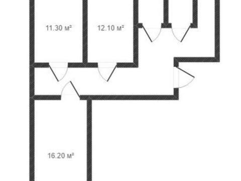 Продажа двухкомнатной квартиры на улице Георгия Димитрова, 22 в Калуге, Купить квартиру в Калуге по недорогой цене, ID объекта - 319812759 - Фото 1