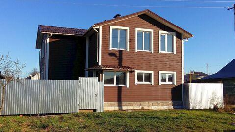 Новый дом-коттедж с г/о в пос. Лежнево Ивановской области - Фото 1