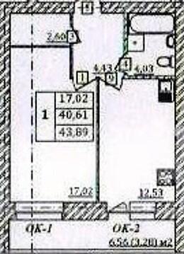 1-комнатная квартира Московском пр. в 5ти мин.от Центра - Фото 4