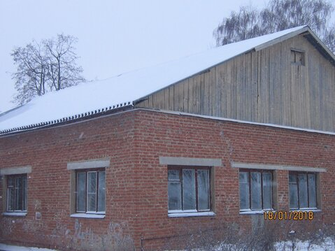 Нежилое здание с земельным участком - Фото 1