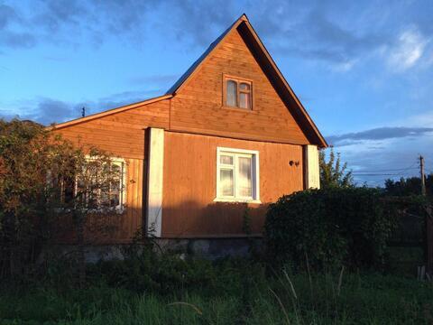Предлагаем земельный участок 12 соток со старым домом в д.Лобаново, . - Фото 1