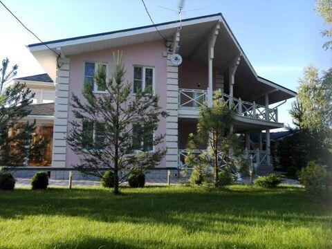 Дом 270 кв.м. и гостевой дом 100 кв.м на 24 сот. земли в Б.Руново - Фото 3
