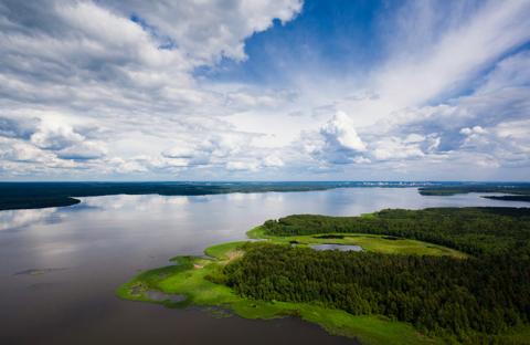 Продается земельный участок в черте г. Пушкино на берегу Учинского вод - Фото 1
