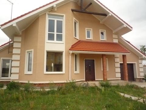 Дом в Сергейково, без отделки, общая площадь 280 кв. м, - Фото 1