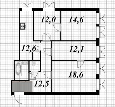 Продажа уютной 4- комн. квартиры в центре Санкт-Петербурга - Фото 5
