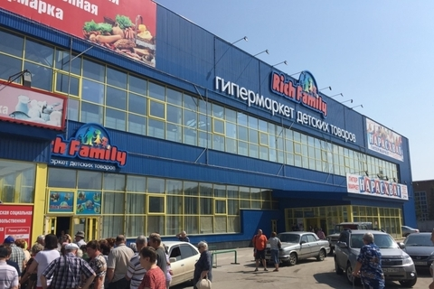 Продажа торгового центра 9623 кв.м на ул. Петухова, 69 в Новосибирске - Фото 1