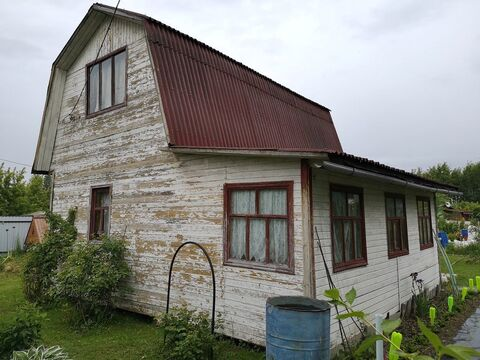 Деревянный дачный дом 84 км от МКАД Ступинский район, СНТ в черте г - Фото 1