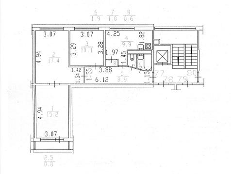 3-х комнатная на Софийской 48 - Фото 2