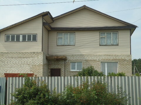 Продается кирп. дом на уч-ке 6 сот. в г. Александров, район 8 марш. Вл - Фото 1