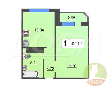 Продажа квартиры, Тюмень, Николая Семенова - Фото 1
