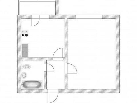 Продажа однокомнатной квартиры на улице Строителей, 69 в Стерлитамаке, Купить квартиру в Стерлитамаке по недорогой цене, ID объекта - 320178114 - Фото 1