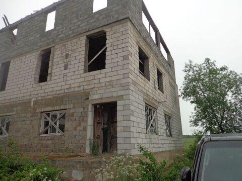 Незавершенный строительством объект жилого дома пл 284 м в г. Кашира . - Фото 2