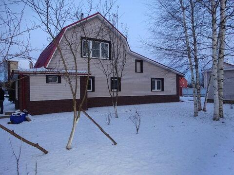 2 дома 230 кв.м д. Верхнее Пикалово, Чеховского района. - Фото 1