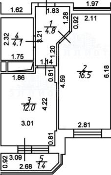 Продается 1-комнатная квартира в г. Мытищи, ЖК Лидер Парк - Фото 1