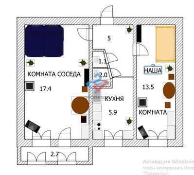 Комната в 2 ке на Достоевского - Фото 2