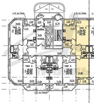 2 х комнатная квартира Ногинск г, Черноголовская 7-я ул, 15 - Фото 3