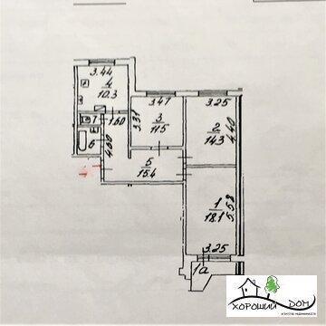 Продается отличная 3-к квартира в г. Зеленоград корп. 1546 - Фото 1