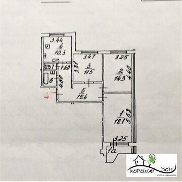 Продается отличная 3-к квартира в г. Зеленоград корп. 1546, Продажа квартир в Зеленограде, ID объекта - 328031513 - Фото 1
