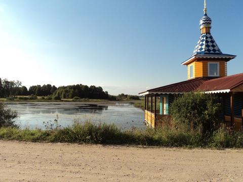 Участок на берегу озера, 15 соток, д. Сивково, 100 км от МКАД, МО. - Фото 2