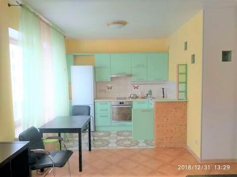 43 м 1 к кв с огромной кухней 20 м. Посудомоечная Кондиционер Эдальго - Фото 1