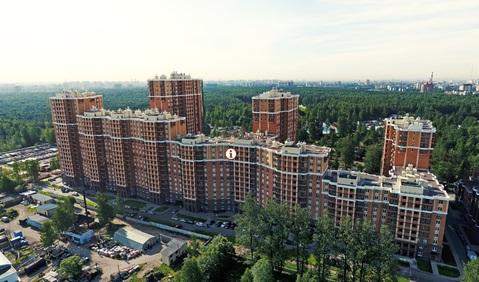 Двухкомнатная квартира в новом доме в парке Сосновка, Купить квартиру в Санкт-Петербурге по недорогой цене, ID объекта - 321877481 - Фото 1